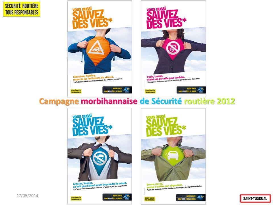 Campagne morbihannaise de Sécurité routière 2012
