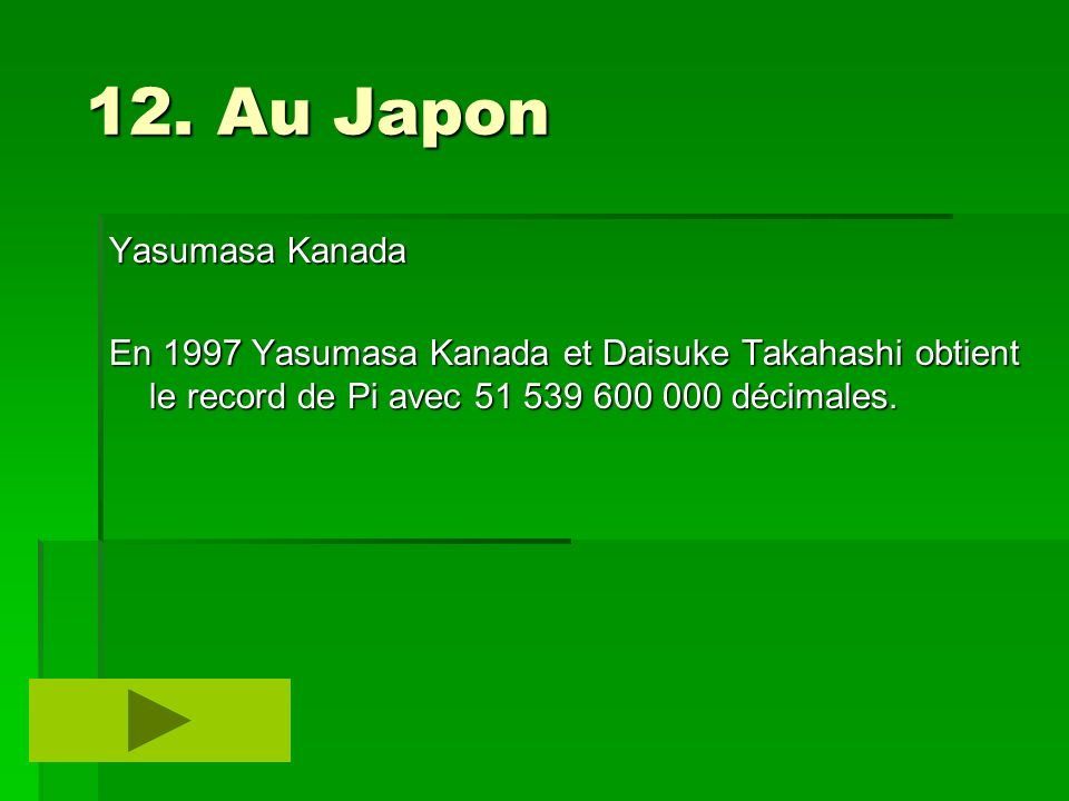 12. Au Japon Yasumasa Kanada
