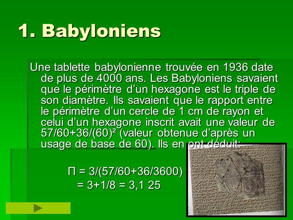 1. Babyloniens