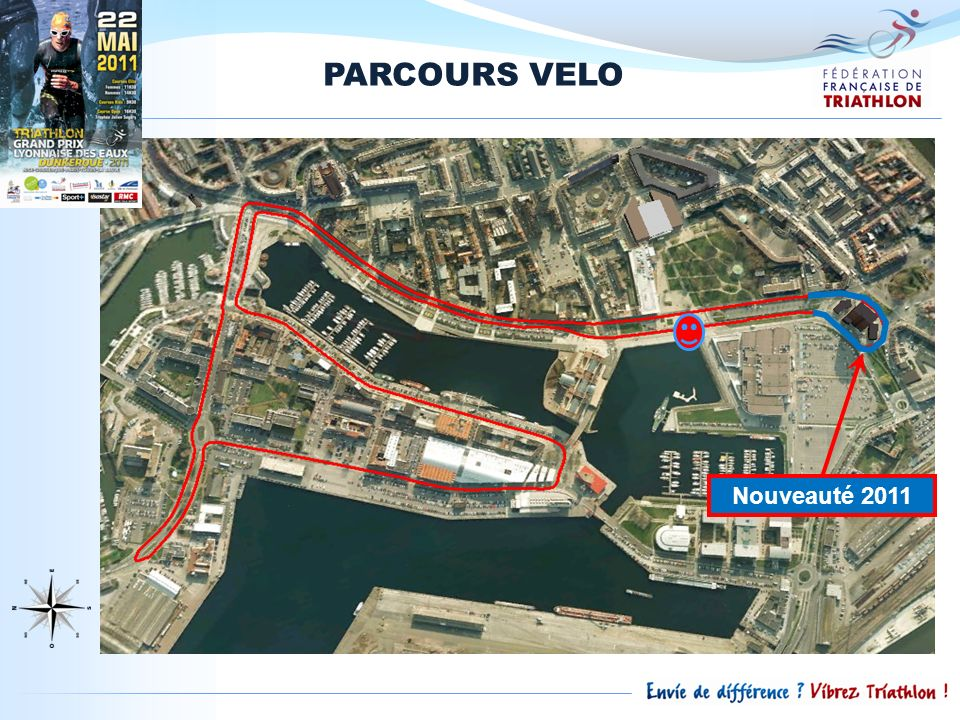 PARCOURS VELO Nouveauté 2011