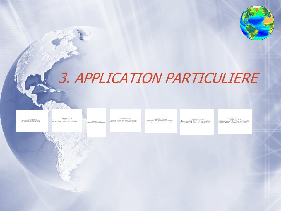 3. APPLICATION PARTICULIERE