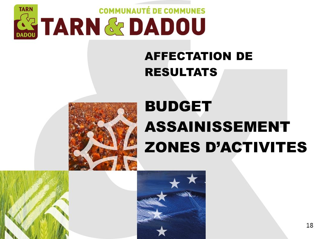 ASSAINISSEMENT ZONES D'ACTIVITES