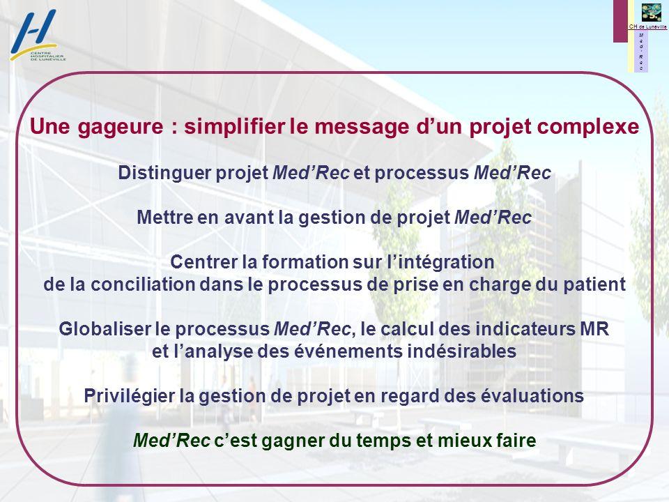 Une gageure : simplifier le message d'un projet complexe