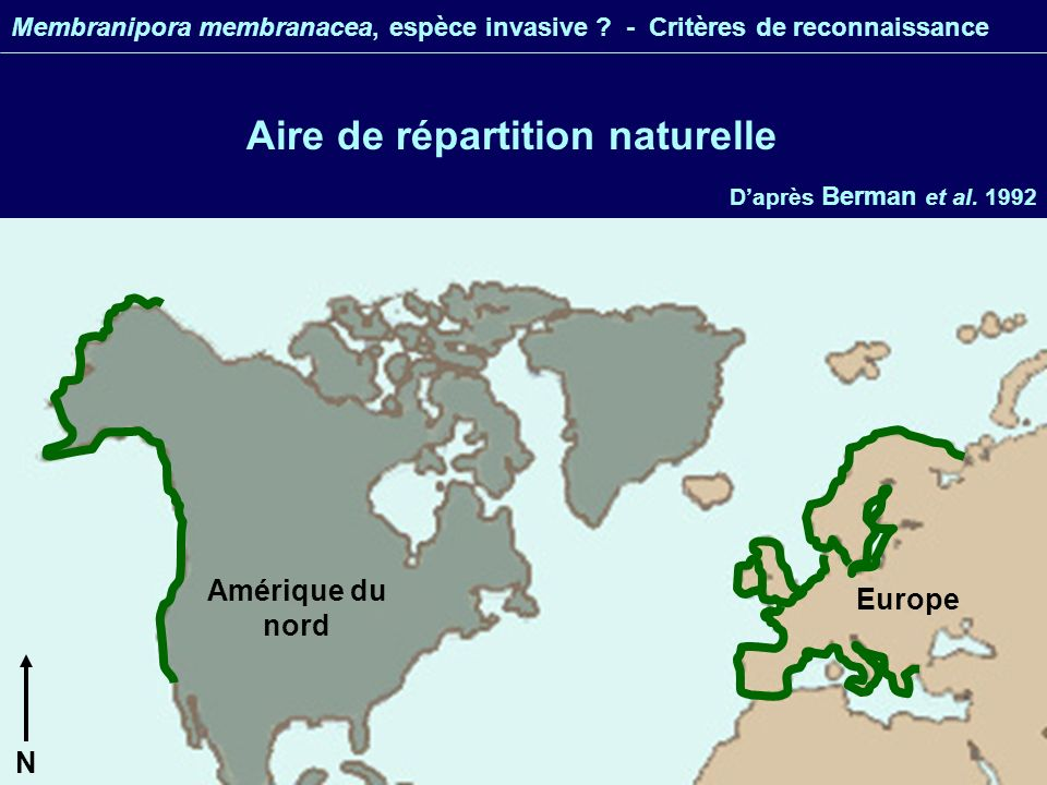 Aire de répartition naturelle