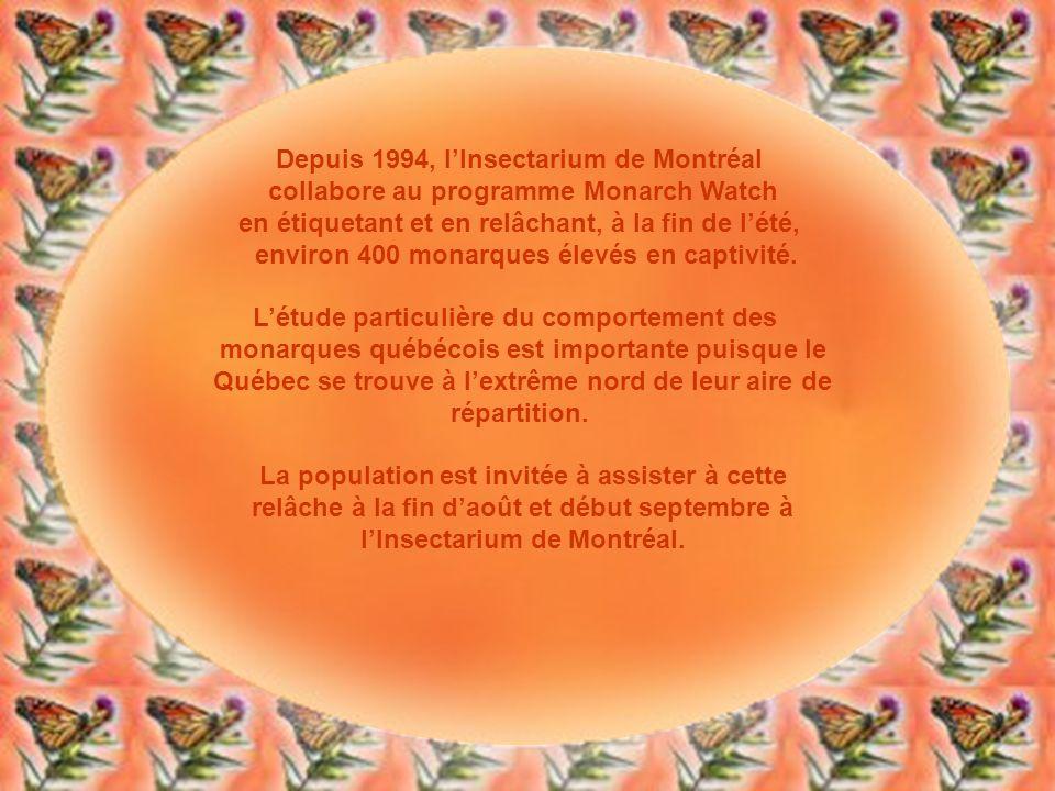 Depuis 1994, l'Insectarium de Montréal