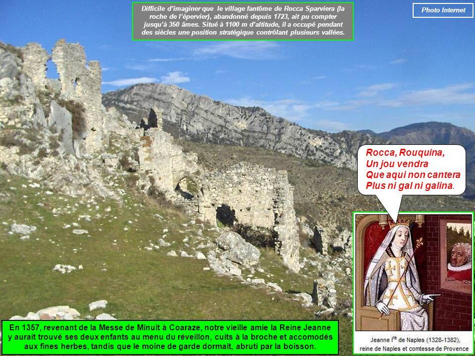 Difficile d'imaginer que le village fantôme de Rocca Sparviera (la roche de l'épervier), abandonné depuis 1723, ait pu compter jusqu'à 350 âmes. Situé à 1100 m d'altitude, il a occupé pendant des siècles une position stratégique contrôlant plusieurs vallées.