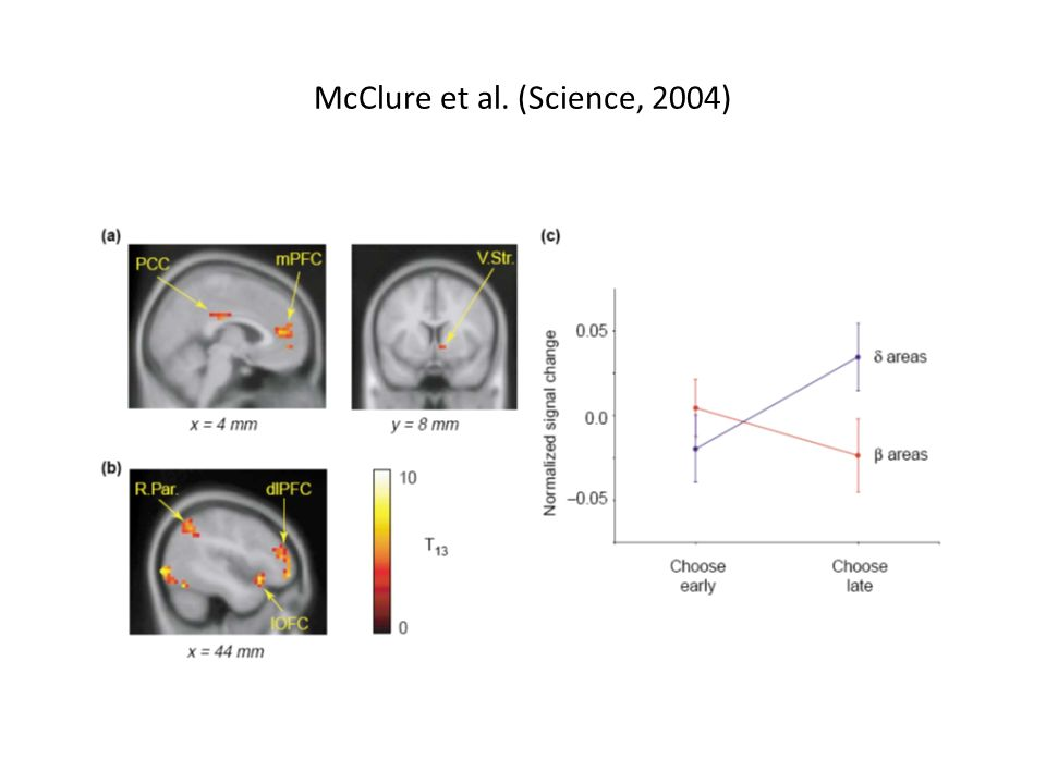 McClure et al. (Science, 2004)