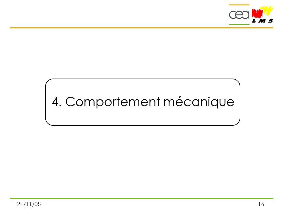 4. Comportement mécanique