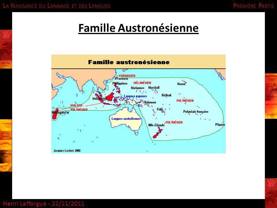 Famille Austronésienne