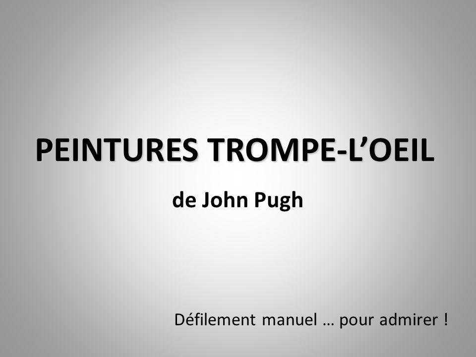 PEINTURES TROMPE-L'OEIL