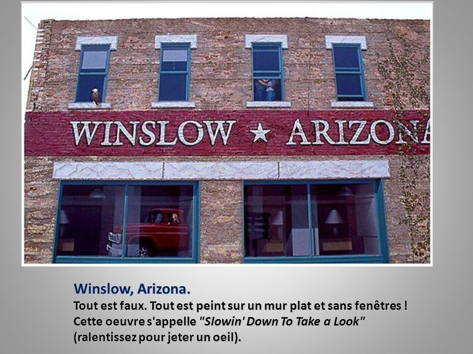 Winslow, Arizona.