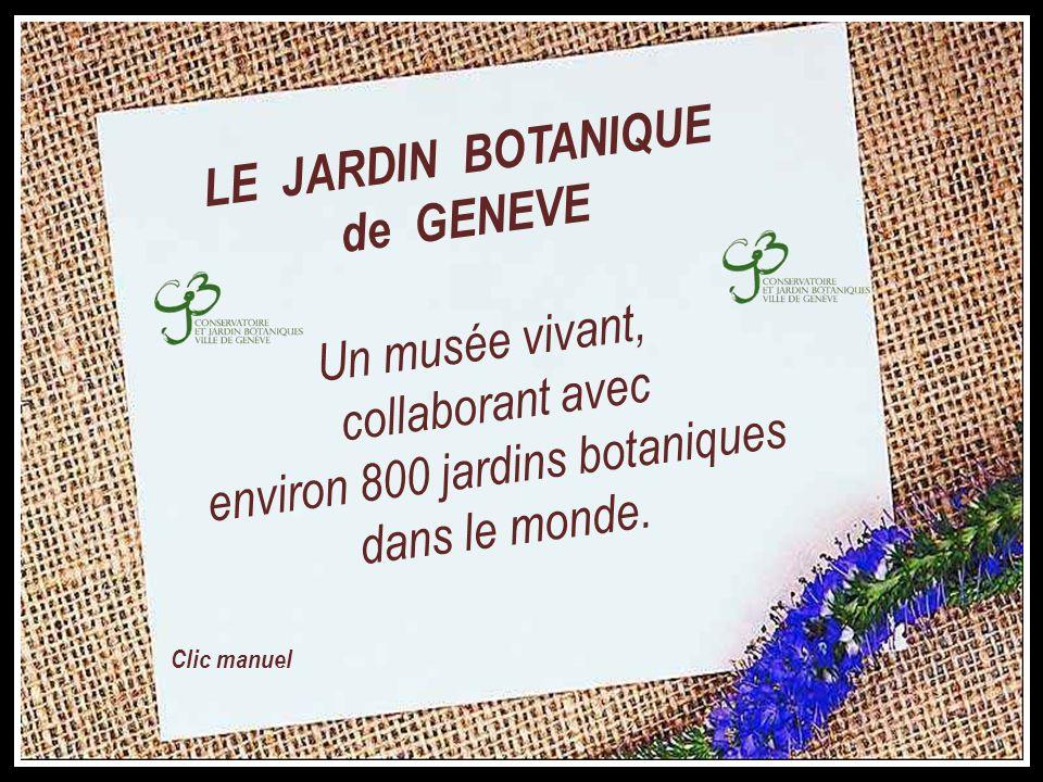 LE JARDIN BOTANIQUE de GENEVE