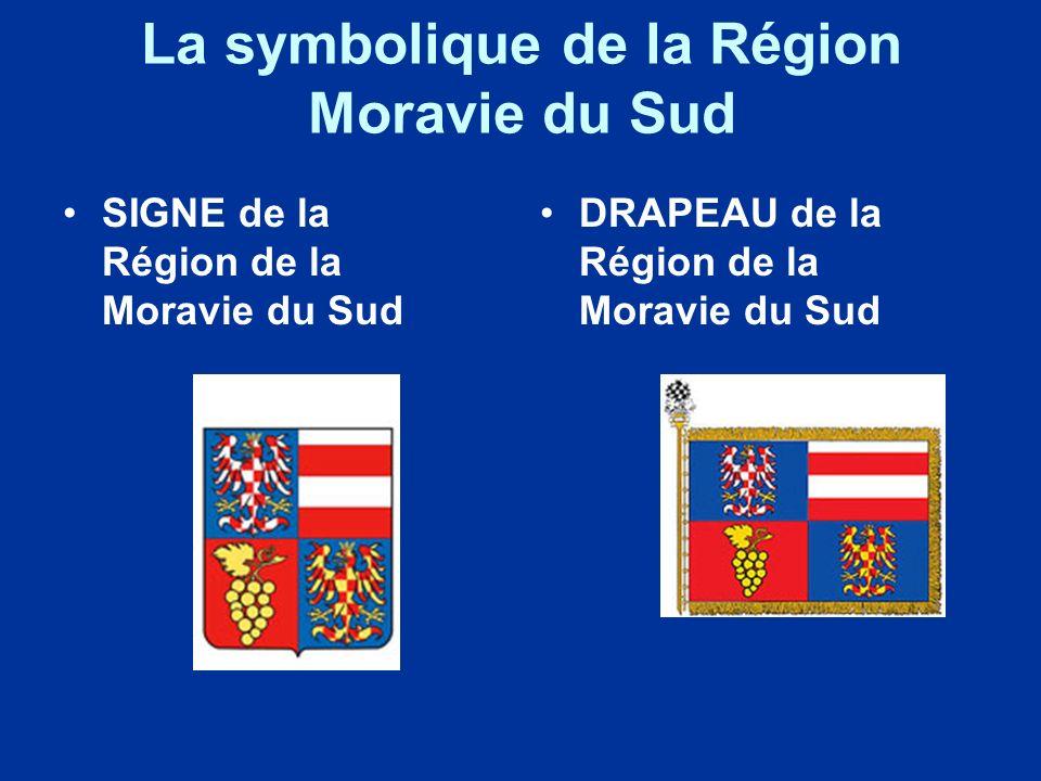La symbolique de la Région Moravie du Sud