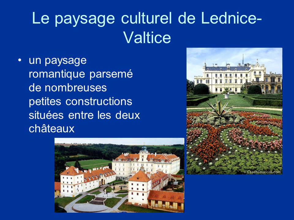 Le paysage culturel de Lednice-Valtice