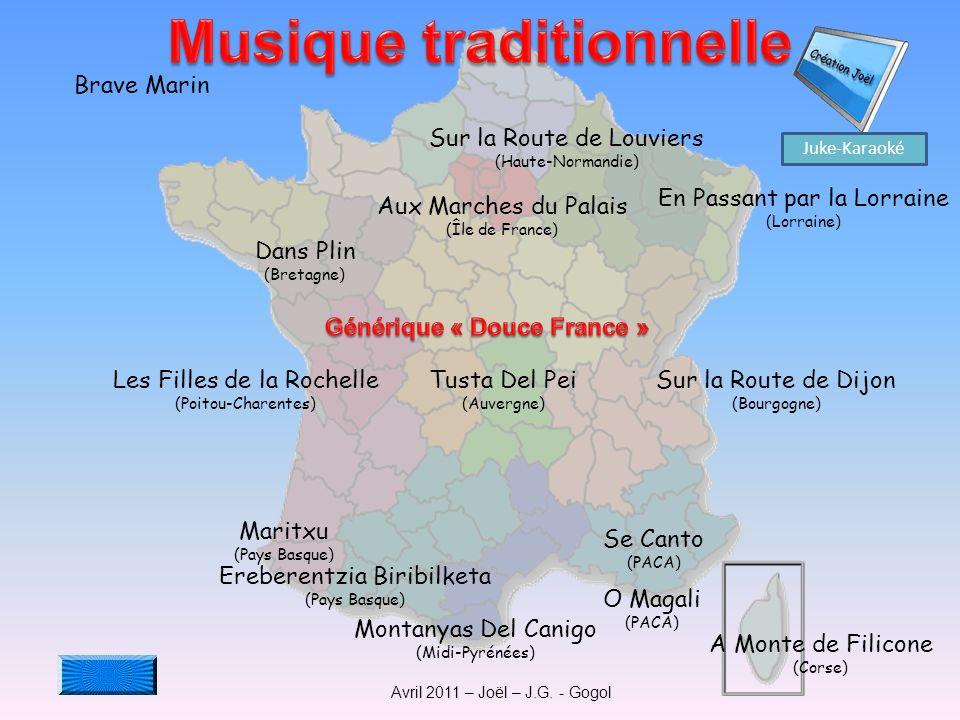 Musique traditionnelle Générique « Douce France »