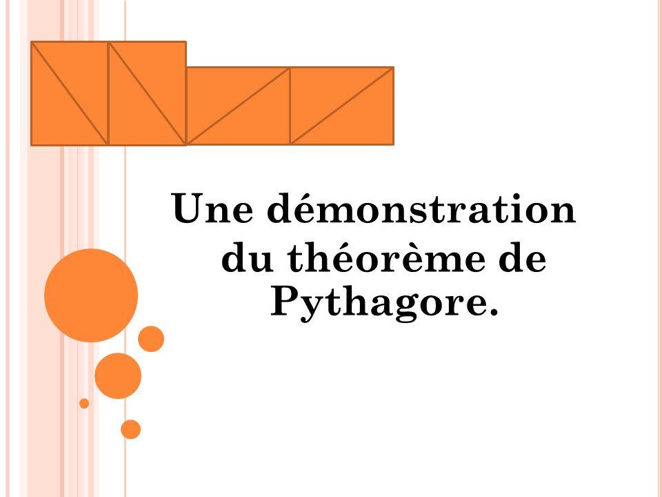 du théorème de Pythagore.