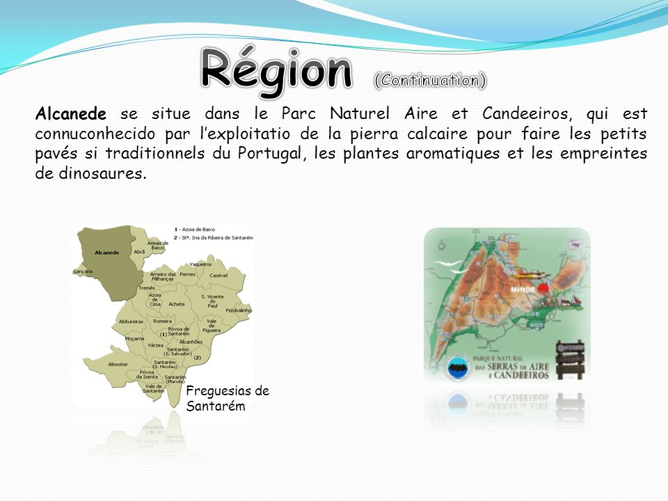 Région (Continuation)