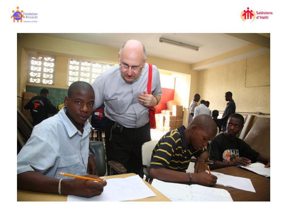 Fundación Rinaldi SDB Haití, os agradece todo el apoyo brindado.