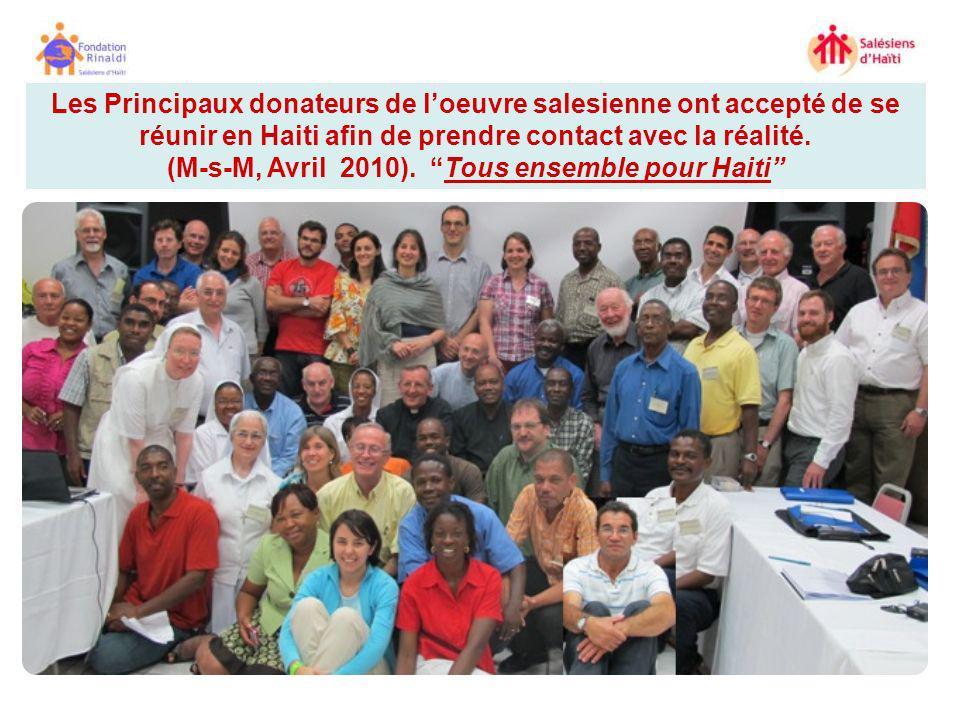(M-s-M, Avril 2010). Tous ensemble pour Haiti