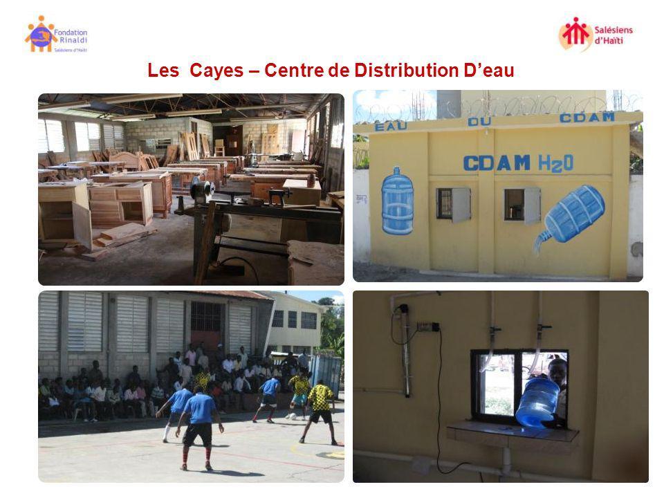 Les Cayes – Centre de Distribution D'eau