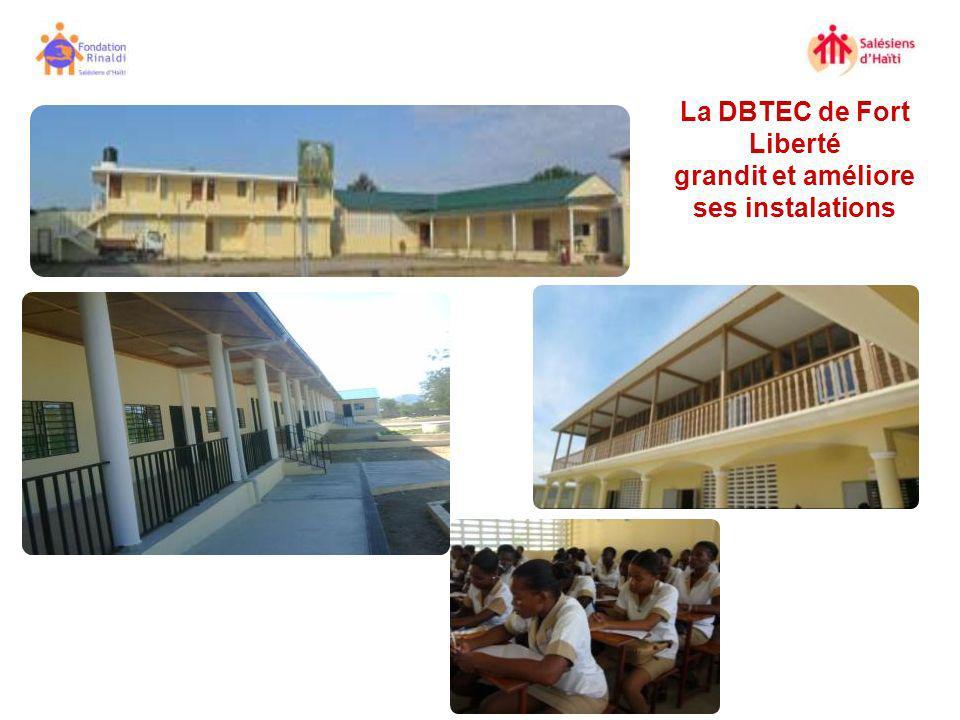La DBTEC de Fort Liberté grandit et améliore ses instalations