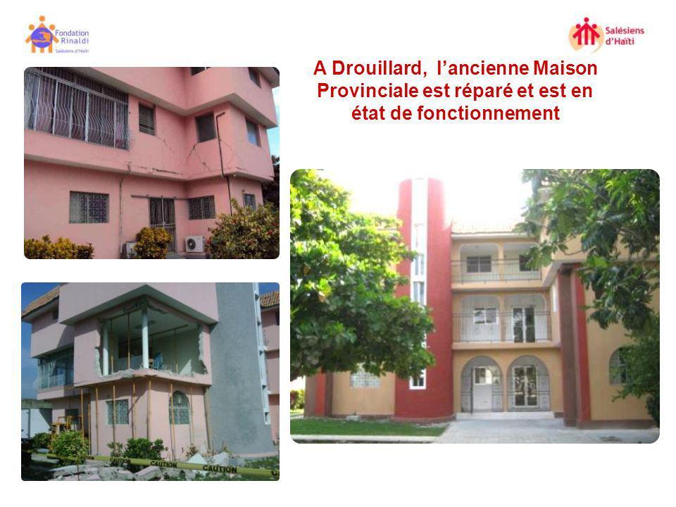 A Drouillard, l'ancienne Maison Provinciale est réparé et est en état de fonctionnement