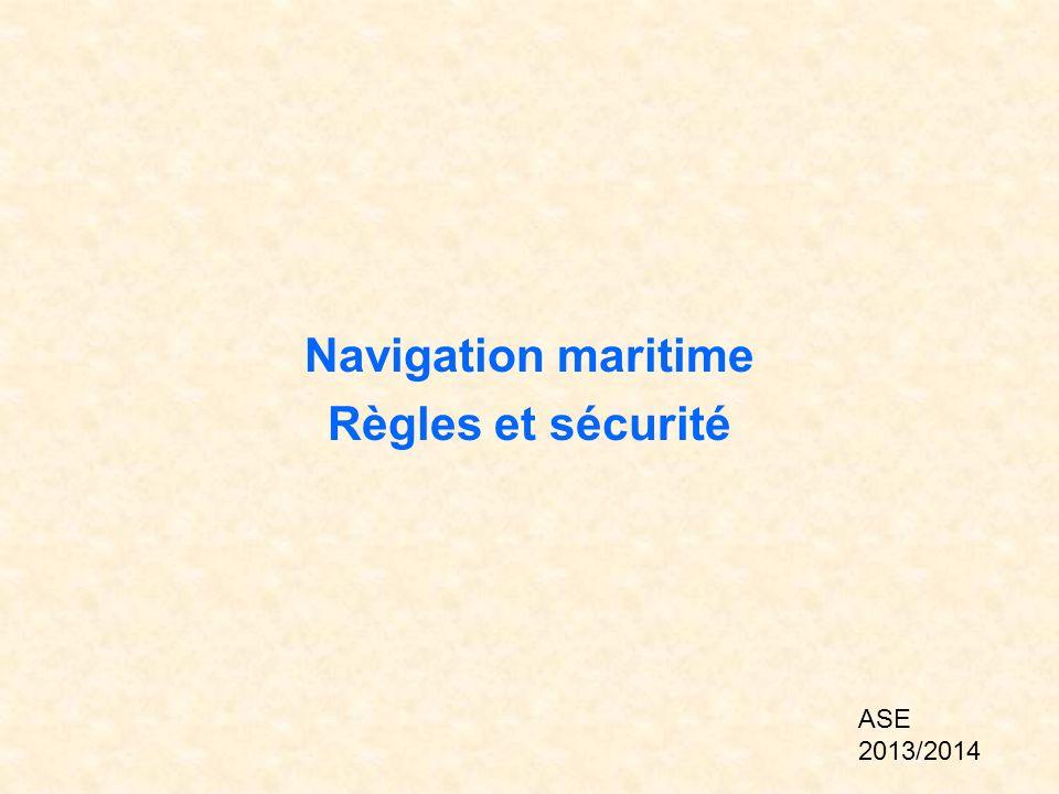 Navigation maritime Règles et sécurité