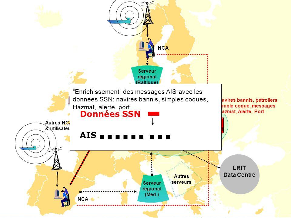 Données SSN AIS Enrichissement des messages AIS avec les