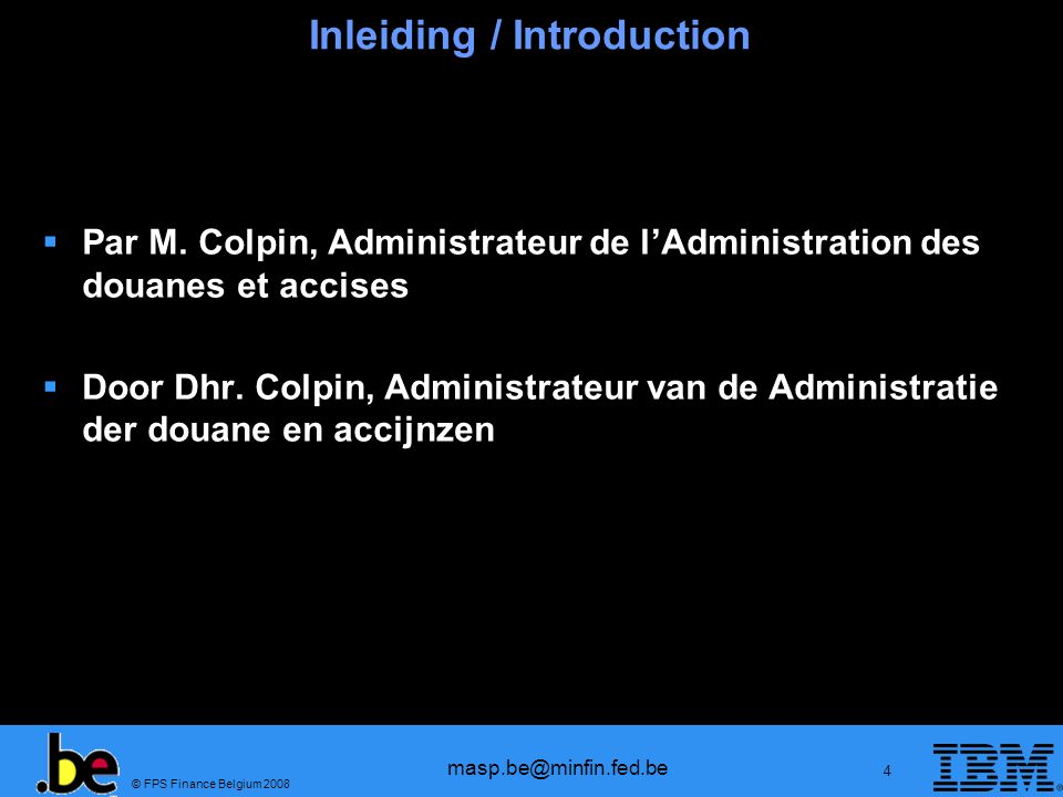 Inleiding / Introduction