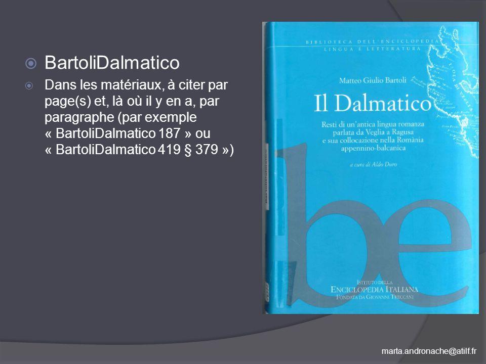 BartoliDalmatico