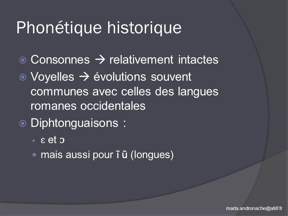 Phonétique historique