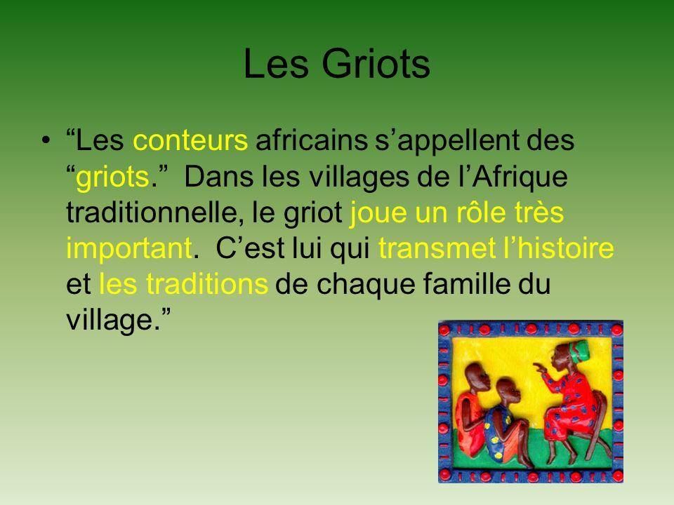 Les Griots