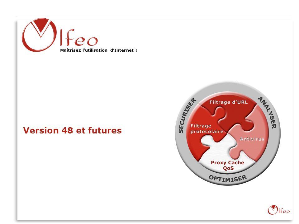 Version 48 et futures Olfeo : Maîtriser l'utilisation d'Internet !