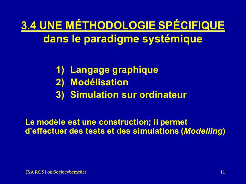 3.4 UNE MÉTHODOLOGIE SPÉCIFIQUE dans le paradigme systémique