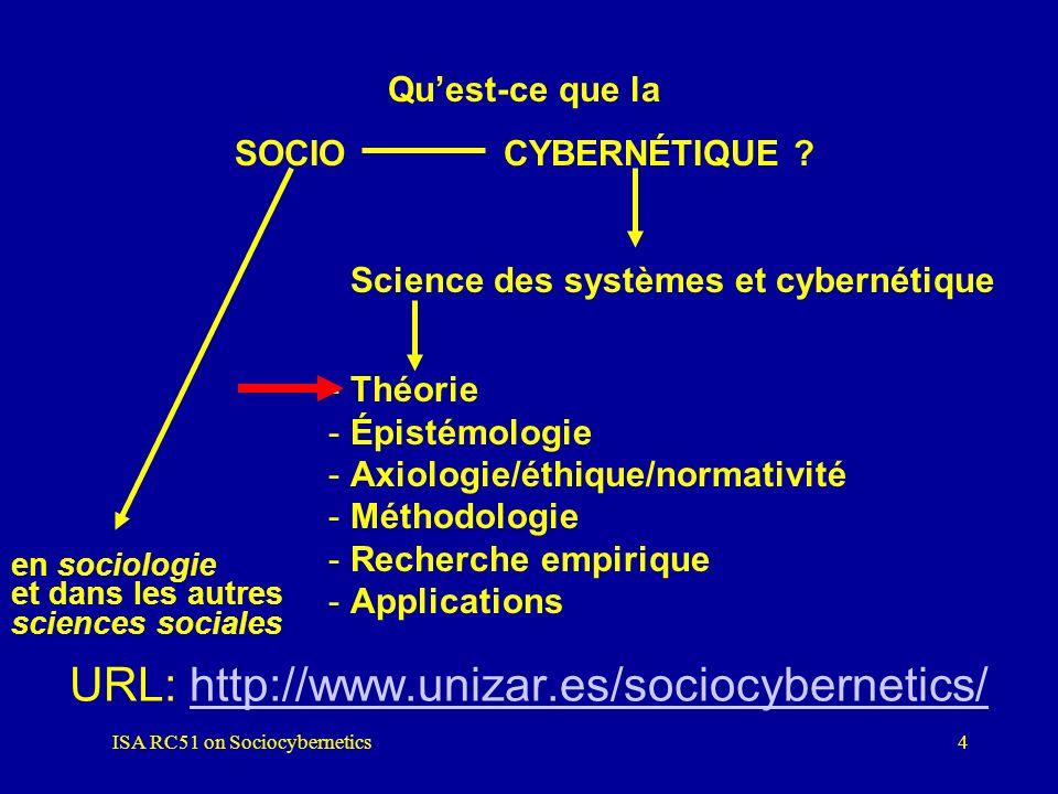 URL: http://www.unizar.es/sociocybernetics/