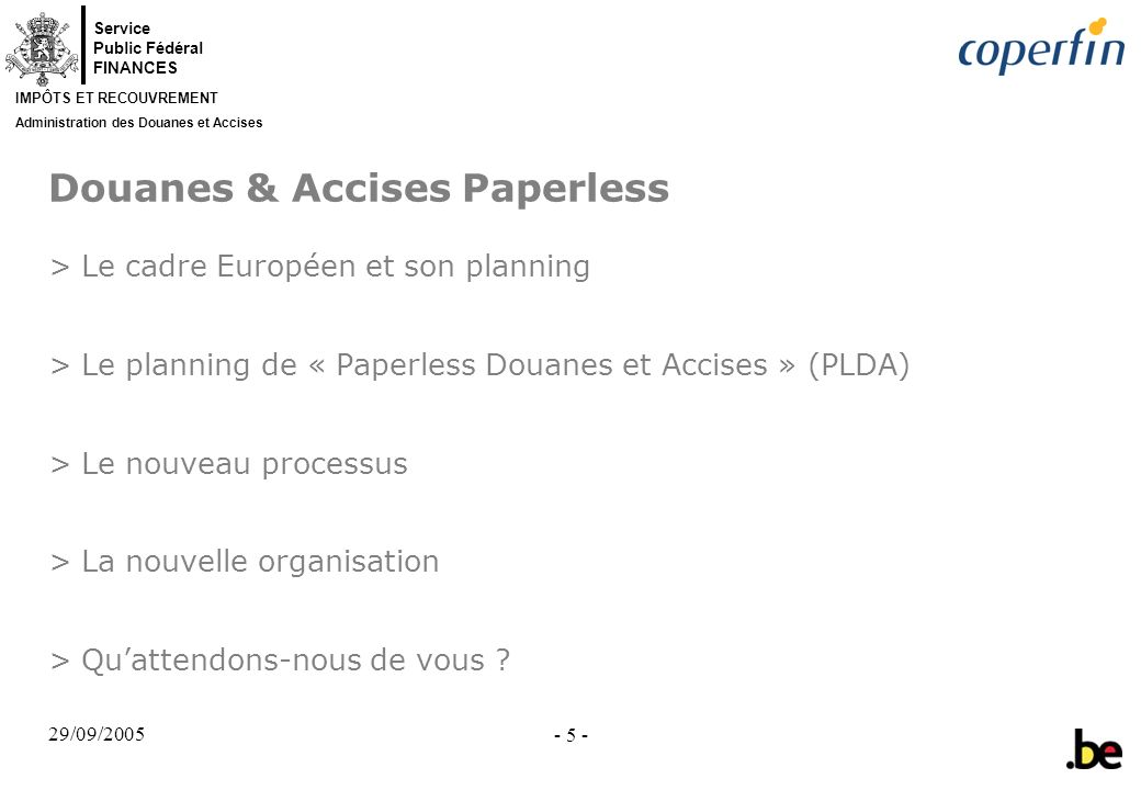 Douanes & Accises Paperless