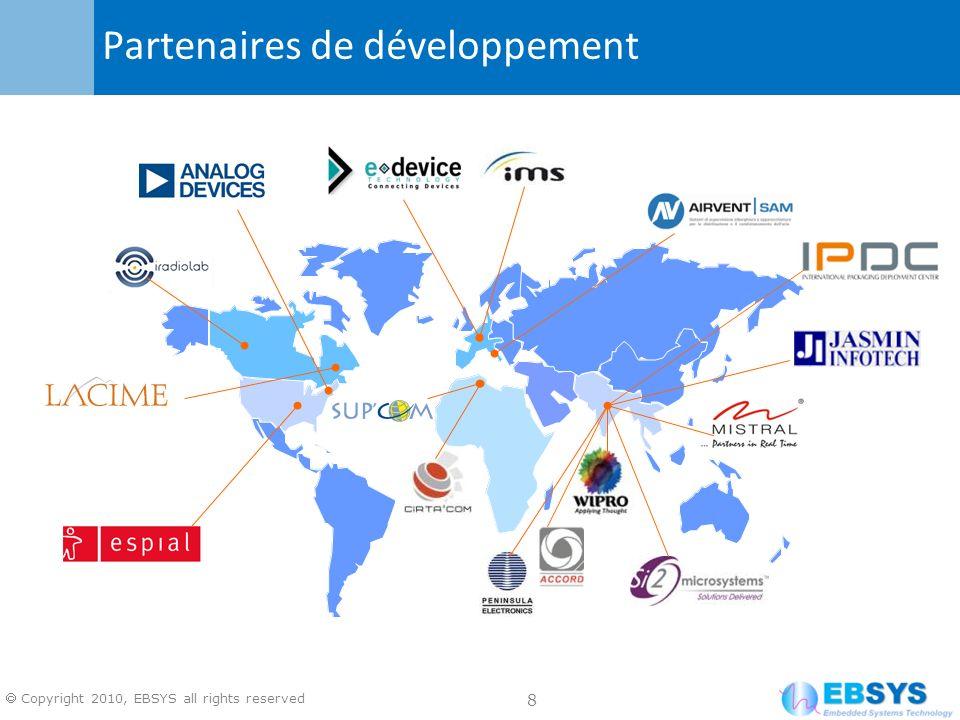 Partenaires de développement