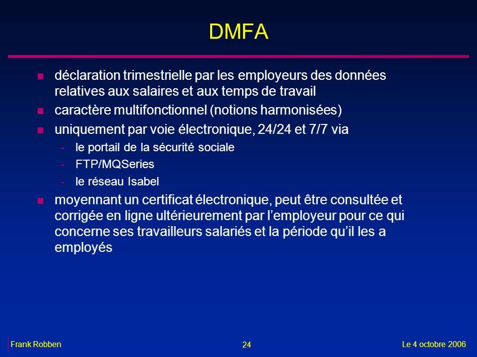 DMFA déclaration trimestrielle par les employeurs des données relatives aux salaires et aux temps de travail.