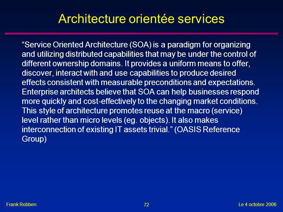 Ksz bcss e government dans le secteur de la s curit for Architecture orientee service