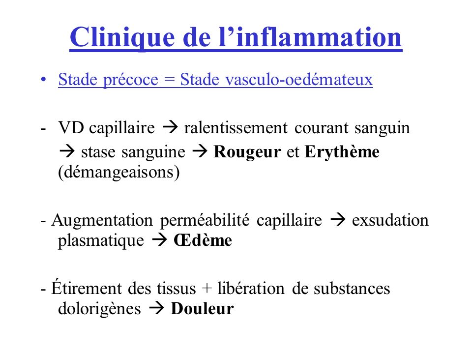 Clinique de l'inflammation