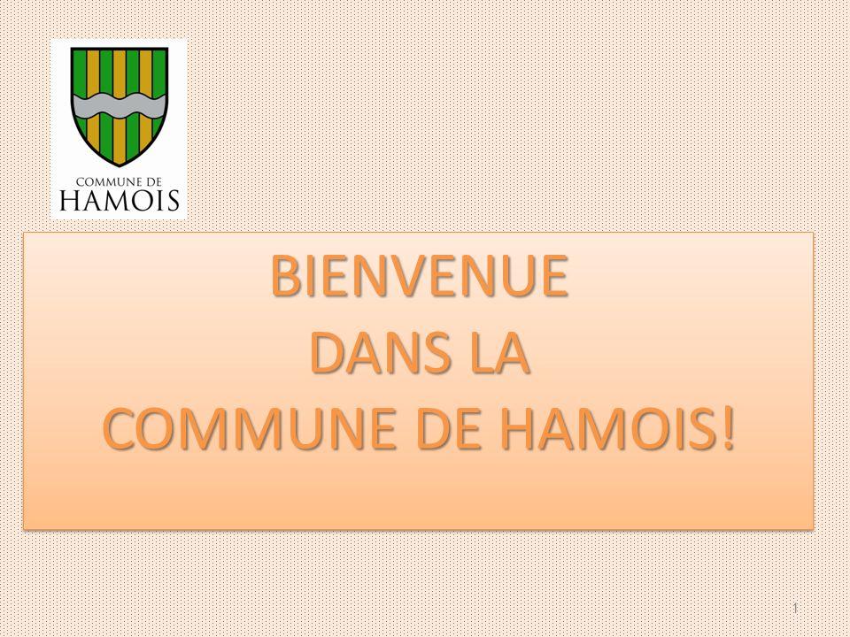 BIENVENUE DANS LA COMMUNE DE HAMOIS!