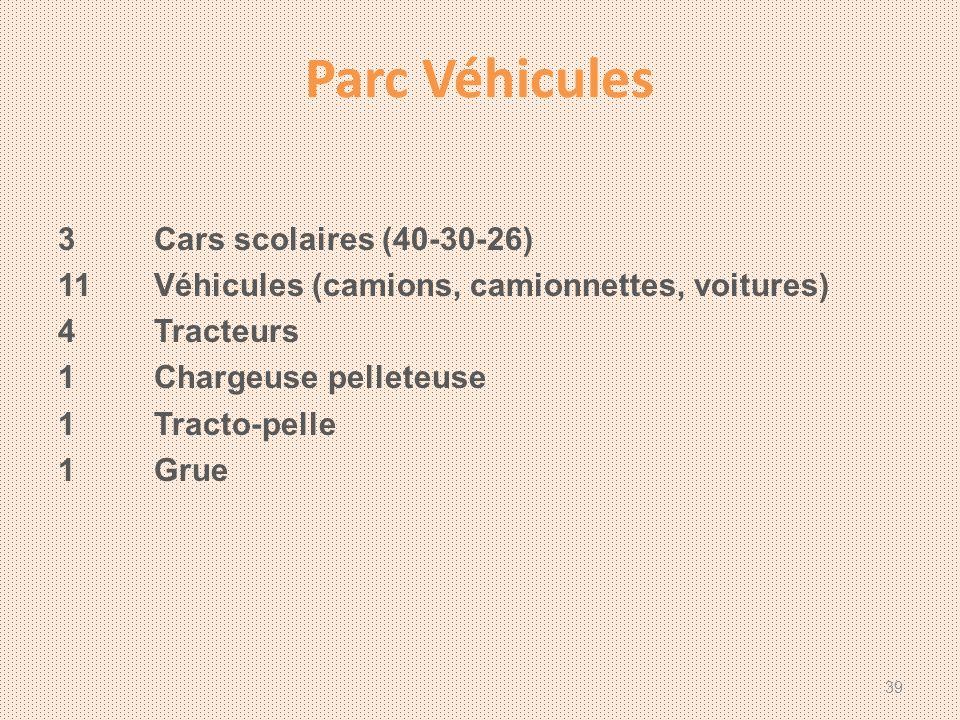 Parc Véhicules 3 Cars scolaires (40-30-26)