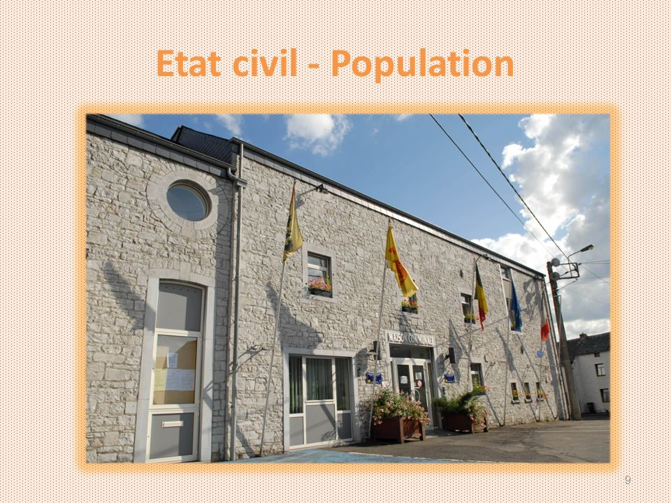 Etat civil - Population