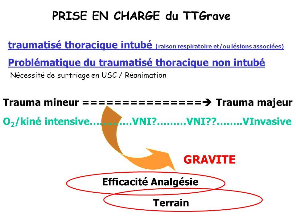 PRISE EN CHARGE du TTGrave