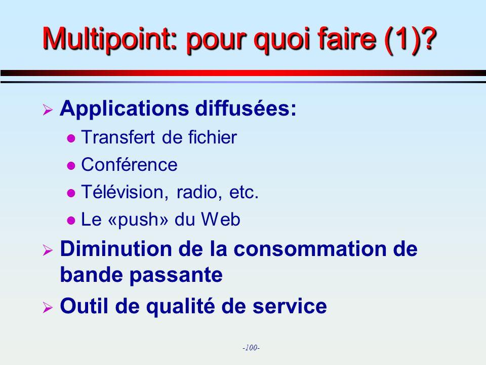 Multipoint: pour quoi faire (1)