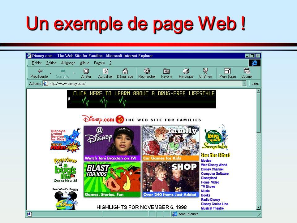Un exemple de page Web !