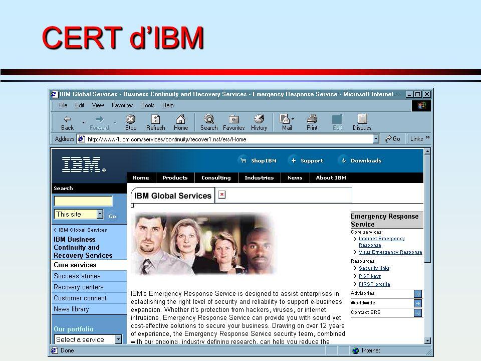 CERT d'IBM