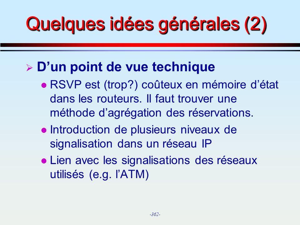 Quelques idées générales (2)