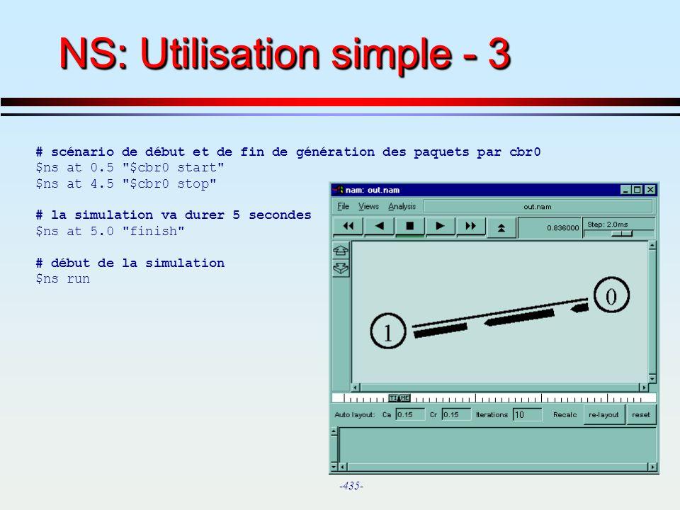 NS: Utilisation simple - 3