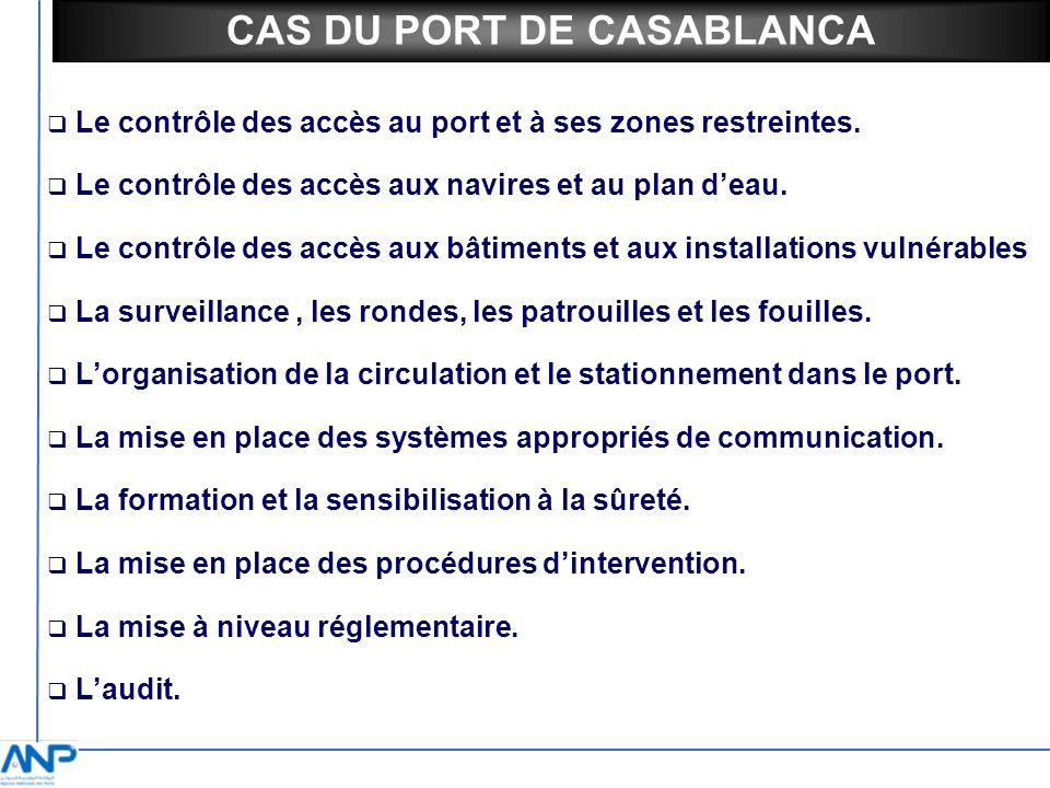 CAS DU PORT DE CASABLANCA
